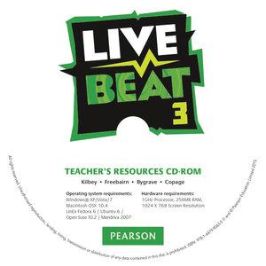 Live Beat 3 Teacher's Resources CD-ROM