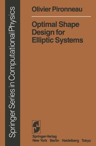 Optimal Shape Design for Elliptic Systems