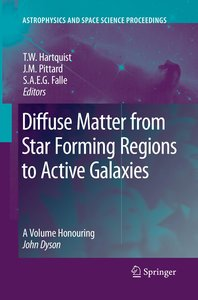 Diffuse Matter from Star Forming Regions to Active Galaxies