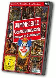 Wimmelbild: Vergnügungspark Abenteuer im Gruselkabinett