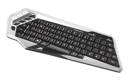 Mad Catz S.T.R.I.K.E.M Wireless QWERTZ-Tastatur für Android/Win - zum Schließen ins Bild klicken