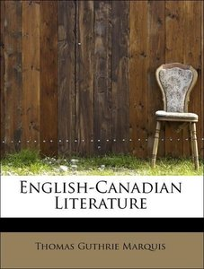 English-Canadian Literature
