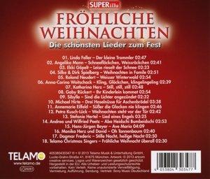 Fröhliche Weihnachten-Die schönsten Lieder zum F