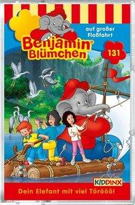Benjamin Blümchen 131. Auf großer Floßfahrt/