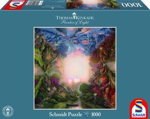 Schmidt Spiele 58462 - Thomas Kinkade: Abendstille, 1.000 Teile