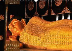 Buddhas of Thailand (Wall Calendar 2016 DIN A3 Landscape)
