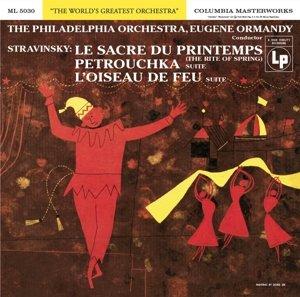 Le Sacre du Printemps/Firebird/Petrushka