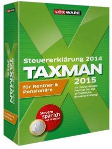TAXMAN 2015 für Rentner & Pensionäre