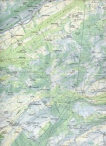 Swisstopo 1 : 25 000 Ste-Croix