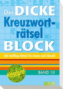 Der dicke Kreuzworträtselblock 10