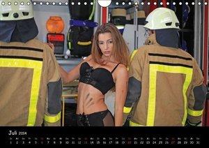 Feuerwehrkalender II (Wandkalender 2014 DIN A4 quer)
