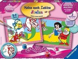 Ravensburger 27722 - Disney Princess: Arielle und Schneewittchen
