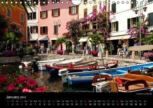 Lake Garda / UK-Version (Wall Calendar 2015 DIN A4 Landscape)