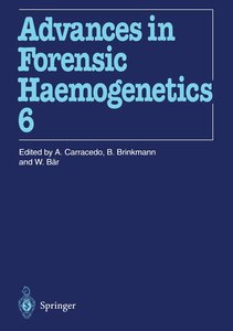 16th Congress of the International Society for Forensic Haemogen
