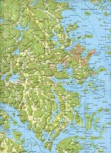 Outdoorkartan Schweden 21 Arkösund