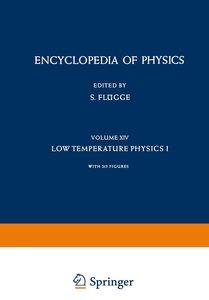 Kältephysik I / Low Temperature Physics I