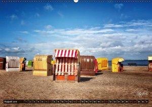 Friesland - Nordseebad Dangast (Wandkalender 2016 DIN A2 quer)