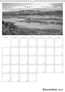 Cuba in Black and White - Organizer / uk-Version (Wall Calendar