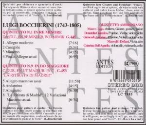 Boccherini:Gitarrenquintette G.445,453