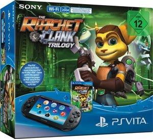 PlayStation Vita Konsole (WiFi) - inkl. Ratchet & Clank Trilogie