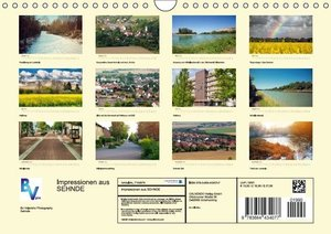 Impressionen aus Sehnde (Wandkalender 2016 DIN A4 quer)