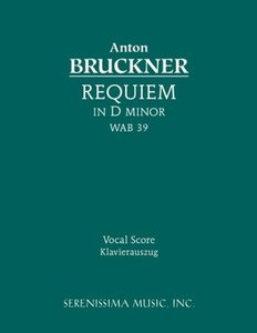 Requiem in D minor, WAB 39 - Vocal score