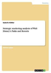 Strategic marketing analysis of Walt Disney's Parks and Resorts