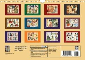 Erbs, K: Alte europäische Ankleidepuppen aus Papier (Wandkal
