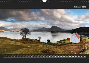 Panoramic Scotland Part III / UK-Version (Wall Calendar 2015 DIN