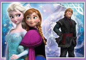 Disney Frozen - 3in1 Puzzle