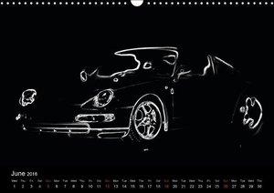 911 Lines (Wall Calendar 2016 DIN A3 Landscape)