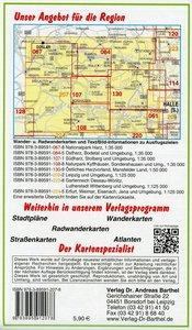 Harz und Umgebung Ausflugskarte 1 : 125000
