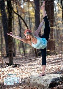 Yoga in der Natur (Wandkalender 2016 DIN A2 hoch)