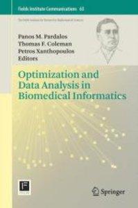 Optimization and Data Analysis in Biomedical Informatics