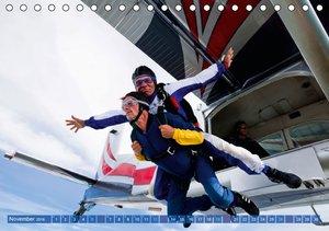 Fallschirmspringen: Abenteuer Luftsprung (Tischkalender 2016 DIN
