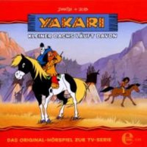 Yakari 04. Kleiner Dachs läuft davon