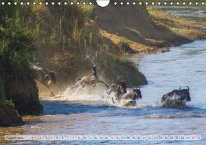 Emotional Moments: African Wildlife UK (Wall Calendar 2015 DIN A
