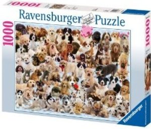 Ravensburger 15633 - Hunde Collage, 1000 Teile Puzzle