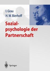 Sozialpsychologie der Partnerschaft