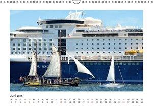 Schiffe (Wandkalender 2016 DIN A3 quer)