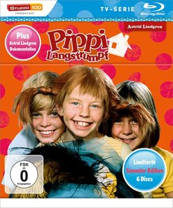 Pippi Langstrumpf TV-Serie Blu-ray Box