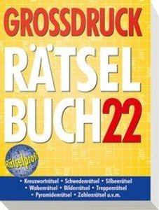 Großdruck-Rätselbuch 22