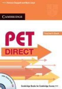PET Direct. Teacher's Book with Class Audio-CD