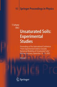Unsaturated Soils: Experimental Studies