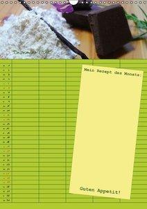 Kaina, M: Jeden Monat m(ein) Rezept (Wandkalender 2015 DIN A