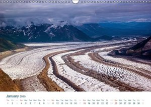 The Alaska Calendar UK-Version (Wall Calendar 2015 DIN A3 Landsc