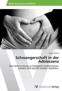Schwangerschaft in der Adoleszenz