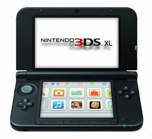 Nintendo 3DS XL Konsole - blau / schwarz
