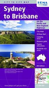 Sydney to Brisbane 1 : 1000 000