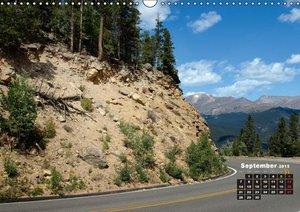 USA Country Roads / UK - Version (Wall Calendar 2015 DIN A3 Land